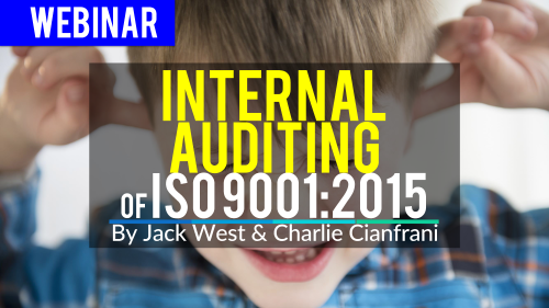 internal audit iso 9001 version 2015
